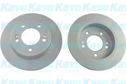 Тормозной диск на KIA CERATO 'KAVO PARTS BR-3275-C'.