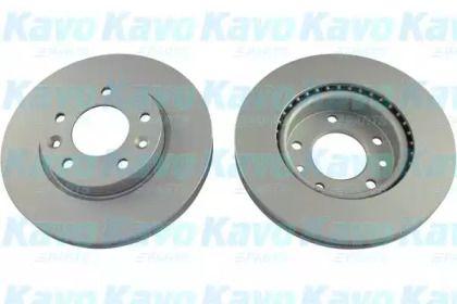 Вентилируемый тормозной диск на KIA CARNIVAL KAVO PARTS BR-4213-C.
