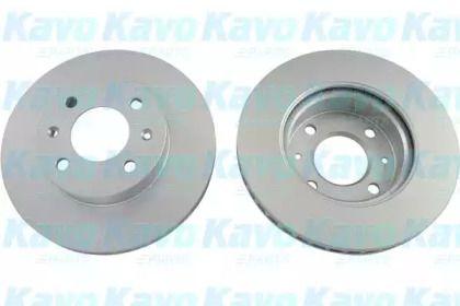 Вентилируемый тормозной диск на Киа Пиканто KAVO PARTS BR-4218-C.