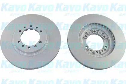 Вентилируемый тормозной диск на Митсубиси Галлопер 'KAVO PARTS BR-5722-C'.