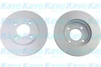 Вентильований гальмівний диск на MITSUBISHI CARISMA 'KAVO PARTS BR-5724-C'.