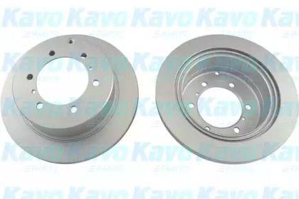Тормозной диск на MITSUBISHI DELICA 'KAVO PARTS BR-5733-C'.