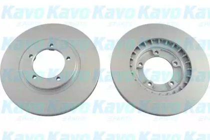 Вентилируемый тормозной диск на Митсубиси Л400 'KAVO PARTS BR-5755-C'.