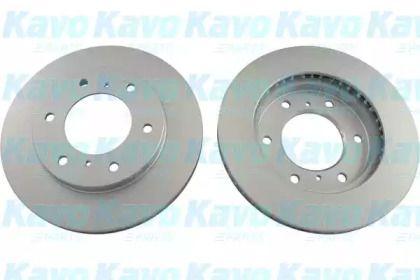 Вентилируемый тормозной диск на Митсубиси Паджеро 'KAVO PARTS BR-5759-C'.