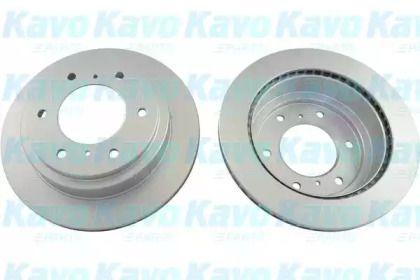 Вентилируемый тормозной диск на Митсубиси Паджеро 'KAVO PARTS BR-5760-C'.