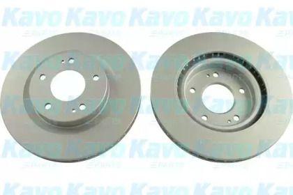 Вентилируемый тормозной диск на Митсубиси Грандис 'KAVO PARTS BR-5767-C'.