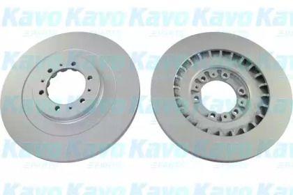 Вентилируемый тормозной диск на MITSUBISHI GALLOPER 'KAVO PARTS BR-5769-C'.