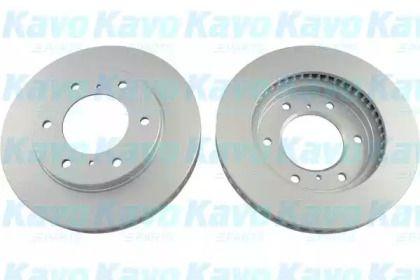 Вентилируемый тормозной диск на Митсубиси Л200 'KAVO PARTS BR-5770-C'.