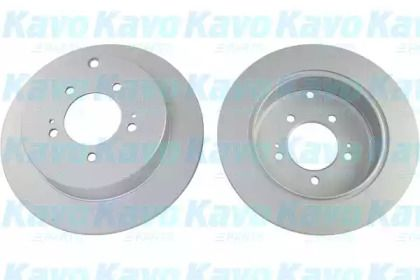 Тормозной диск на CITROEN C-CROSSER 'KAVO PARTS BR-5776-C'.