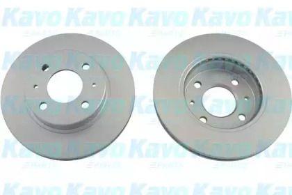 Вентилируемый тормозной диск на NISSAN SUNNY 'KAVO PARTS BR-6721-C'.