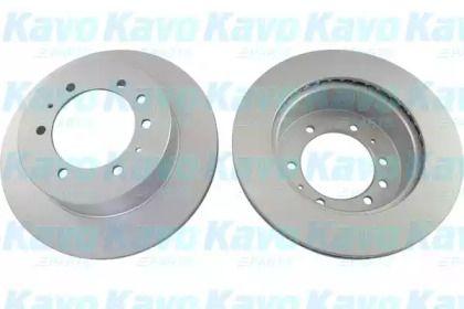 Вентилируемый тормозной диск на NISSAN PATROL 'KAVO PARTS BR-6766-C'.