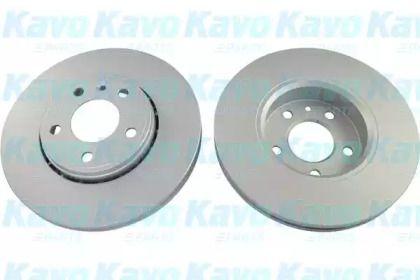 Вентилируемый тормозной диск на RENAULT TRAFIC 'KAVO PARTS BR-6782-C'.