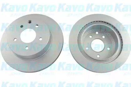 Вентилируемый тормозной диск на Ниссан Х-Трейл 'KAVO PARTS BR-6783-C'.