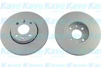 Вентилируемый тормозной диск на NISSAN MICRA 'KAVO PARTS BR-6785-C'.