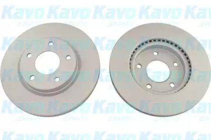 Вентилируемый тормозной диск на Ниссан Пульсар 'KAVO PARTS BR-6818-C'.