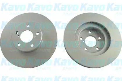 Вентилируемый тормозной диск на Субару Импреза 'KAVO PARTS BR-8213-C'.