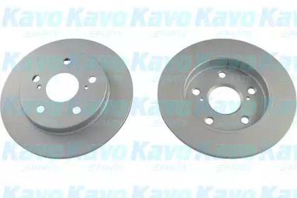 Вентилируемый тормозной диск на TOYOTA PRIUS 'KAVO PARTS BR-9352-C'.