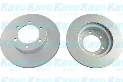 Вентилируемый тормозной диск на Тайота Ленд Крузер Прадо 'KAVO PARTS BR-9394-C'.