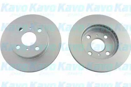 Вентилируемый тормозной диск на TOYOTA YARIS 'KAVO PARTS BR-9399-C'.