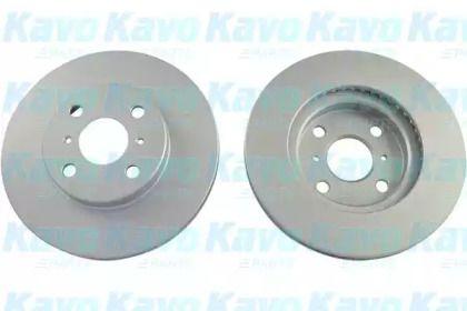 Вентилируемый тормозной диск на Тайота Ярис 'KAVO PARTS BR-9403-C'.