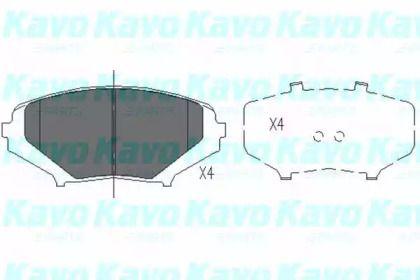 Гальмівні колодки на MAZDA RX-8 'KAVO PARTS KBP-4546'.