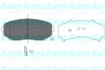 KAVO PARTS KBP-4558