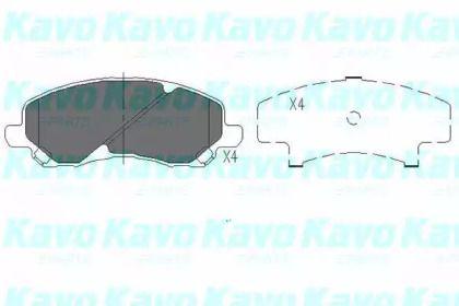 Тормозные колодки 'KAVO PARTS KBP-5516'.