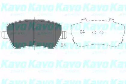 Гальмівні колодки 'KAVO PARTS KBP-6559'.