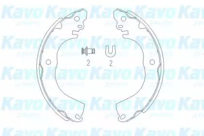 Барабанні гальмівні колодки KAVO PARTS KBS-7416.