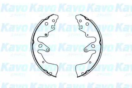 Барабанні гальмівні колодки KAVO PARTS KBS-8901.