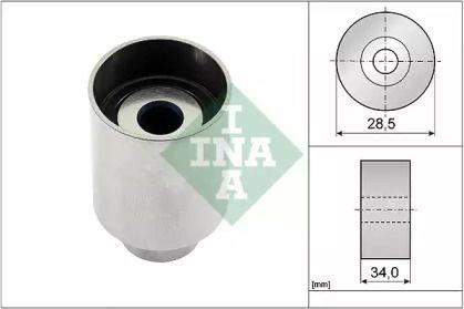Обводной ролик ГРМ 'INA 532 0236 10'.