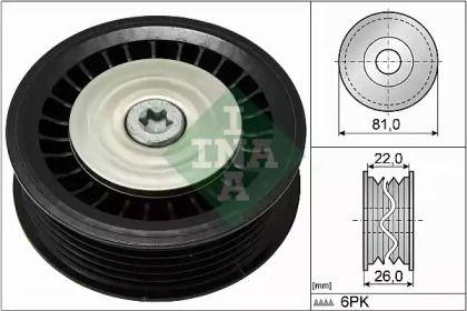 Ролик ременя генератора на Мерседес Гла  INA 532 0678 10.