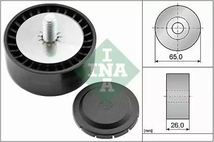 Ролик ременя генератора на Мерседес ГЛЦ  INA 532 0802 10.