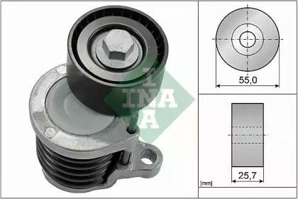 Натягувач ременя генератора на Mercedes-Benz GLC  INA 534 0591 10.