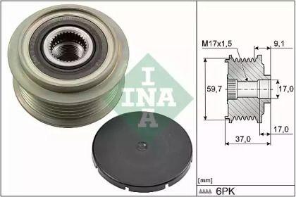 Муфта генератора на Мазда МПВ 'INA 535 0035 10'.