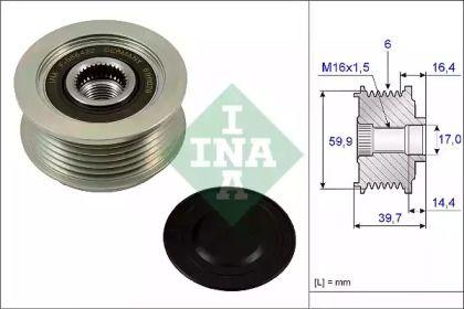 Муфта генератора INA 535 0241 10.