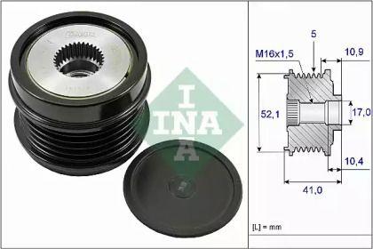 Муфта генератора на Мерседес Гла  INA 535 0272 10.