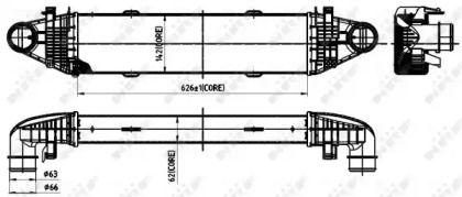 Інтеркулер на Mercedes-Benz GLK  NRF 30315.