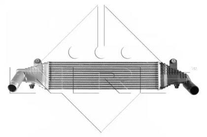 Интеркулер на MAZDA 3 'NRF 30364'.