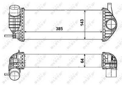 Інтеркулер NRF 30467.