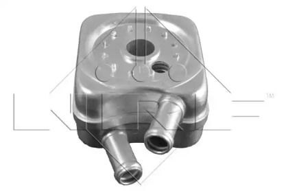 Масляный радиатор на Фольксваген Пассат 'NRF 31304'.