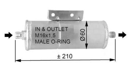 Осушувач, кондиціонер на MAZDA MX-5 NRF 33333.