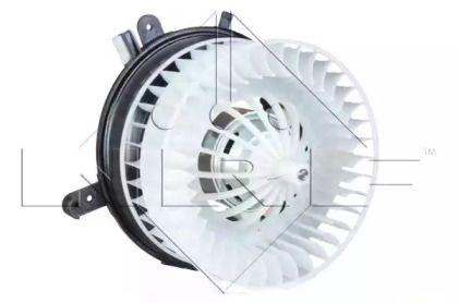 Вентилятор пічки на Мерседес W210 NRF 34045.