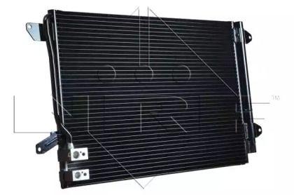 Радиатор кондиционера на Фольксваген Джетта 'NRF 350028'.