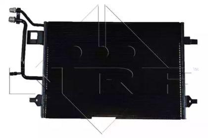 Радиатор кондиционера на VOLKSWAGEN PASSAT NRF 35199.