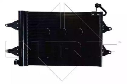 Радіатор кондиціонера 'NRF 35480'.
