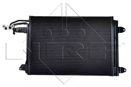 Радиатор кондиционера на Сеат Леон NRF 35520.