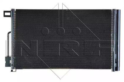Радиатор кондиционера на OPEL ADAM 'NRF 35777'.