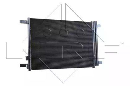 Радиатор кондиционера на SEAT LEON NRF 35968.