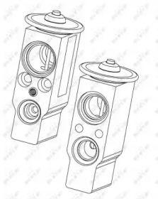Расширительный клапан кондиционера на Сеат Толедо NRF 38374.